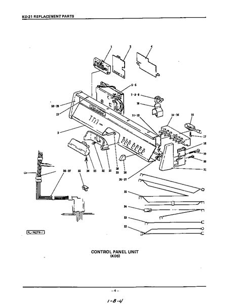 Kitchenaid Dishwasher Parts by Kitchenaid Dishwasher Front Panel Parts Model Kdc21