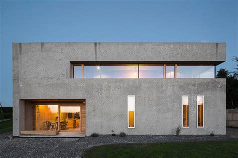 Beton Holz Fassade by Wohnhaus In Wei 223 Ensberg Beton Wohnen Efh Baunetz Wissen