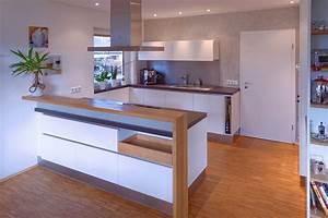 Weiße Küche Mit Holz : einbauk che wei holz ~ Articles-book.com Haus und Dekorationen