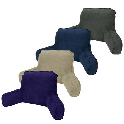 back rest pillow made in australia micro suede standard backrest pillow