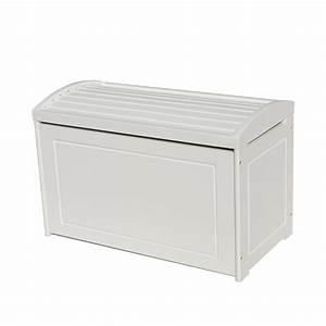 Coffre Jouet Blanc : coffre jouets corsaire en bois blanc pour enfant ~ Teatrodelosmanantiales.com Idées de Décoration