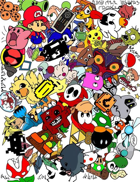 gaming in color gaming doodle colour by kayle619 on deviantart