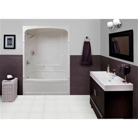 mirolin victoria    piece acrylic tub  shower