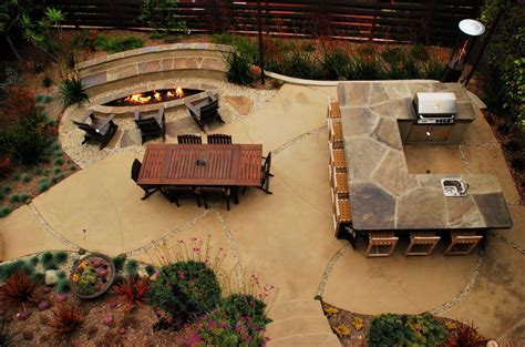 27+ Magnificent Concrete Slab Patio Ideas