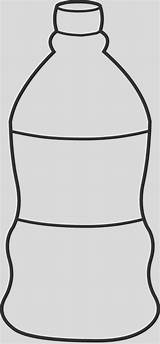Water Bottle Coloring Elegant Templates sketch template