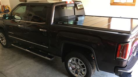 gmc bed cover peragon retractable truck bed covers for gmc