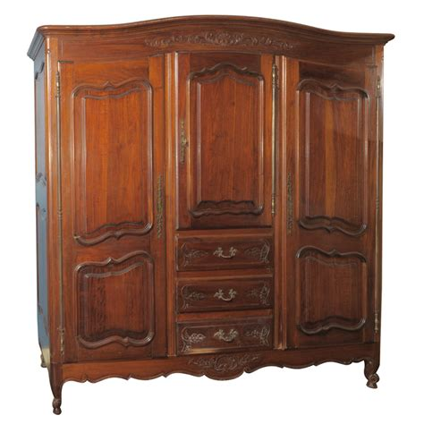Large Armoires by Large Three Door Mahogany Armoire For Sale Antiques