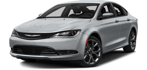 standard chrysler 200 2015 chrysler 200 standard optional equipment