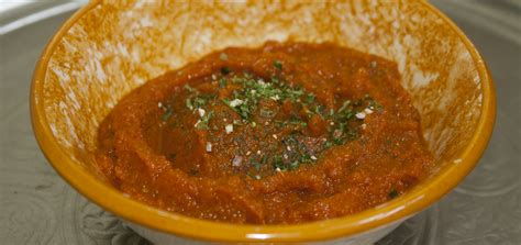 cuisine carotte recette salade de purée de carotte tunisienne cuisine du