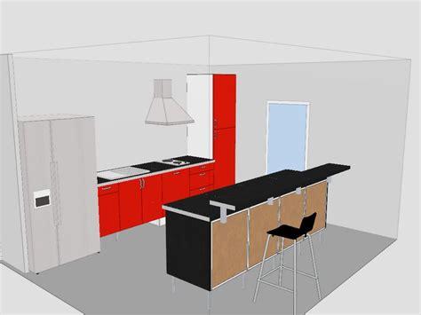 pied cuisine ikea cuisine ikea avec ilot central maison design bahbe com