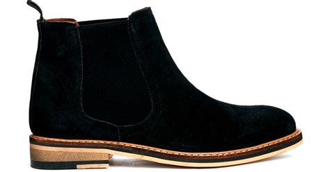 Asos Boots : Asos Activity Suede Chelsea Boots In Black