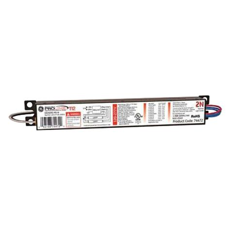 4 L T12 Ballast Home Depot by Ge 120 To 277 Volt Electronic Ballast For 4 Ft 2 L T12