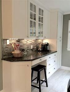25 best ideas about kitchen desks on pinterest kitchen With kitchen cabinets lowes with stickers by sandstone