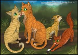 warriors cats the gallery for gt warrior cats firestars family tree
