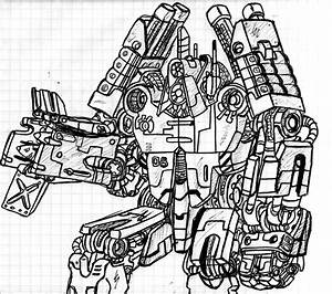 The gallery for --> War Robots Drawings
