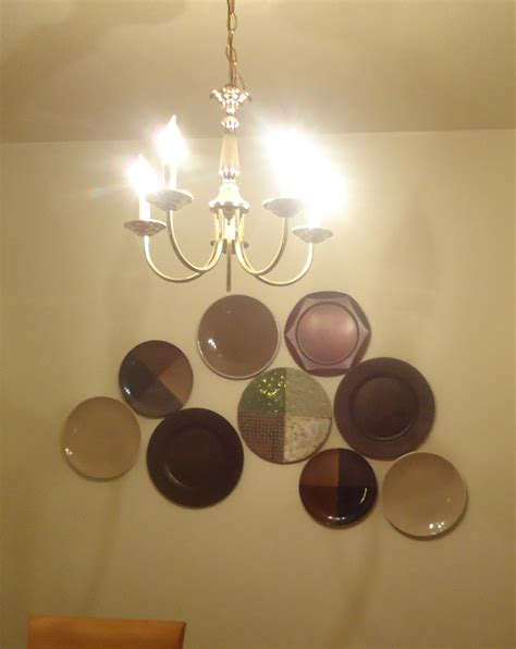 frugal home design invisible disc plate hangers tutorial great  hanging plates