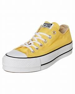 Converse Womens Chuck Taylor All Star Lift Shoe Butter