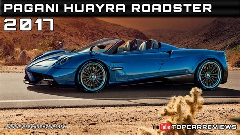 2017 Pagani Huayra Roadster Review Rendered Price Specs