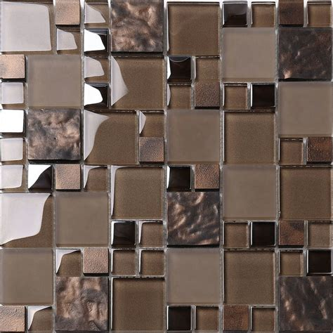 kitchen backsplash mosaic tiles mosaic decor brown glass mosaic kitchen backsplash tile mosaic tile houzz