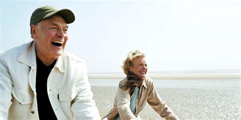 older people happy