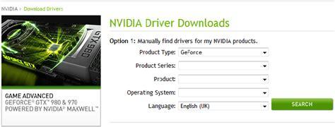 download driver nvidia geforce 210