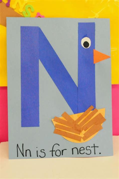 best 10 letter n crafts ideas on 649 | 25b141ded1e1332e84a7aa118ebbeffa kindergarten crafts preschool alphabet