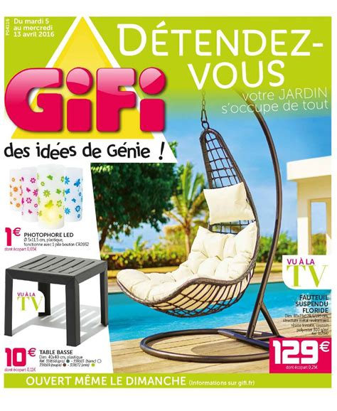 telecharger cuisine az table de jardin enfant 1 catalogue gifi au 13 avril