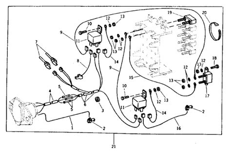 john deere  wiring diagram wiring diagram  schematic
