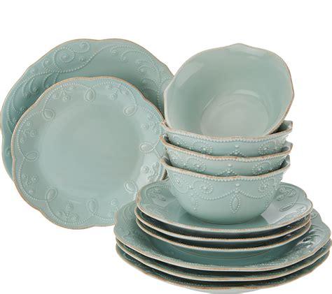 lenox french dinnerware perle pc qvc