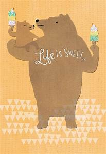 Big and Little Bear Father's Day Card for Great-Grandpa ...