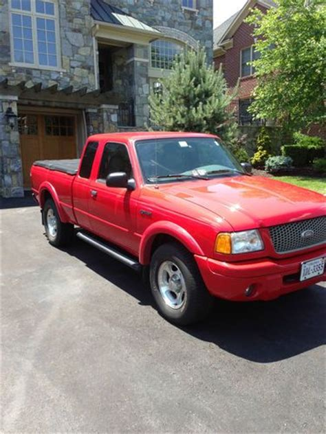 ford ranger 4 door purchase used 2001 ford ranger edge extended cab 4