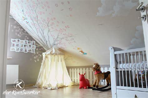 Kinderzimmer Wandgestaltung Himmel by Wohnideen Wandgestaltung Maler Himmel Malerei Als Decken