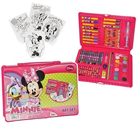 stifte für kinder xl set stifte koffer 71 tlg minnie mouse malkoffer mit stiften und farben kinder