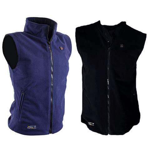 fleece electric heated vest buy battery powered electric heated vest battery powered heated