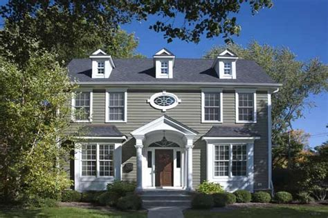 paint color ideas for colonial revival houses