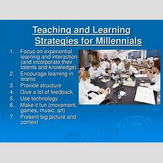 Ppt  Generational Differences And Learning Strategies Powerpoint Presentation Id635110