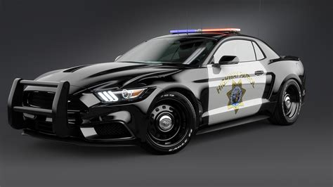 Ford Car : 2017 Ford Mustang Notchback Design Police 2 Wallpaper