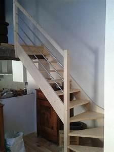 Marche Bois Escalier : escalier bois sans contre marche escaliers ~ Premium-room.com Idées de Décoration