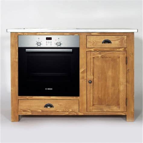 table cuisine encastrable meuble de cuisine en bois pour four et plaques cagne