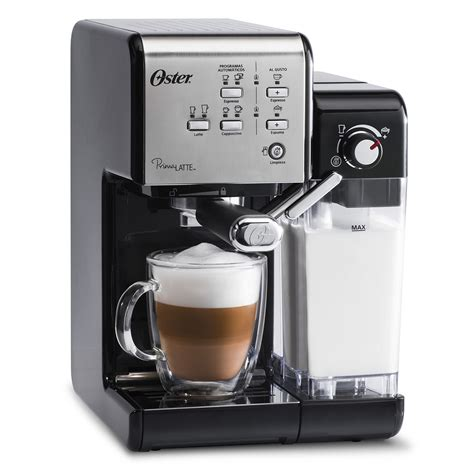 A delonghi machine connected with you to create new recipes with complete freedom and discover infinite personalization. Oster® Prima Lattee® 19-Bar Italian Pump Espresso, Cappuccino & Latte Machine - BVSTEM6701SS-033 ...