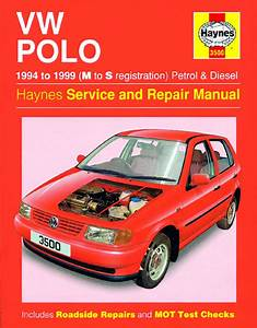 Haynes Manual Vw Polo Hatchback Petrol  U0026 Diesel  1994
