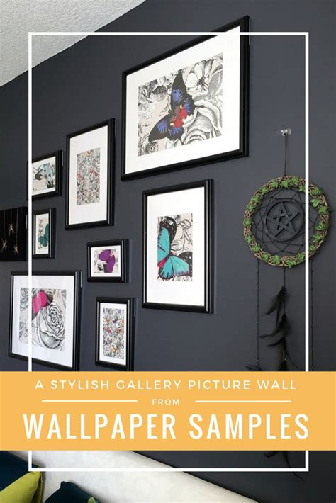 stylish gallery picture wall  wallpaper samples