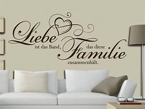 Wandtattoo Sprüche Familie : wandtattoo das band der familie bei ~ Frokenaadalensverden.com Haus und Dekorationen