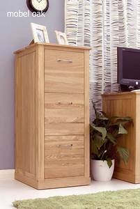 Mobel Oak 3 Drawer Filing Cabinet Filing Cabinets Furn On