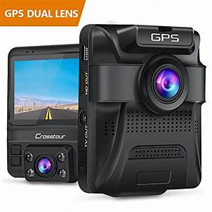 Crosstour Dash Cam : uber dual lens dash cam built in gps in car dashboard ~ Kayakingforconservation.com Haus und Dekorationen