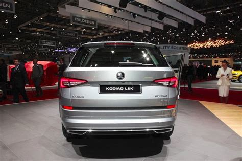 Skoda Kodiaq Laurin & Klement Rear At 2018 Geneva Motor Show