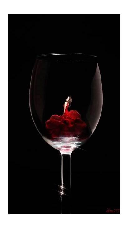 Wine Glass Gifs Woman Fine Vino Robe