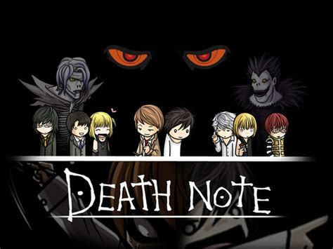 anime fans death note