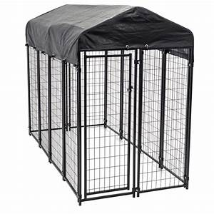 shop 8 ft x 4 ft x 6 ft outdoor dog kennel box kit at With outdoor dog kennel kits