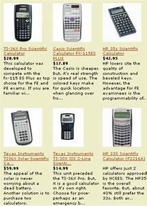 Best Calculator For The Fe Exam